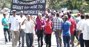 Sugar Workers In Guyana Stage Demonstration In Support Of Salary Increases