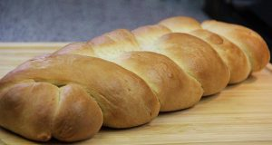 Homemade Plait (Braided) Bread