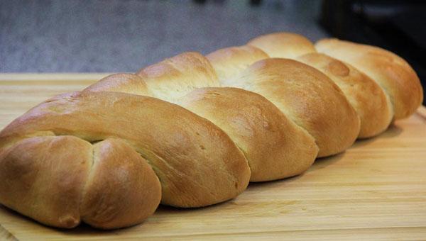 Homemade Plait (Braided) Bread