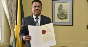 Jamaican Senator Matthew Samuda Sworn In As Cabinet Minister