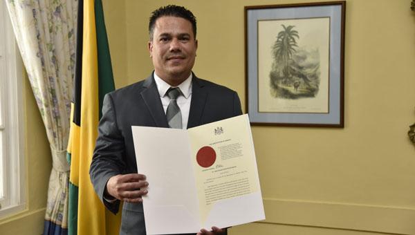 Jamaican Senator Matthew Samuda Sworn In As Cabinet Minister