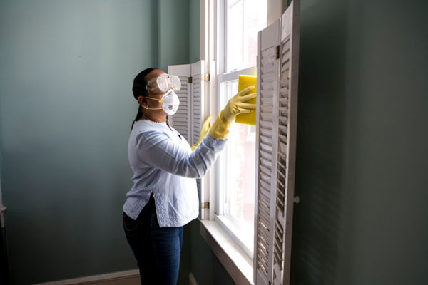 Disinfect surfaces to reduce the spread of coronavirus. Photo credit: CDC/Unsplash.