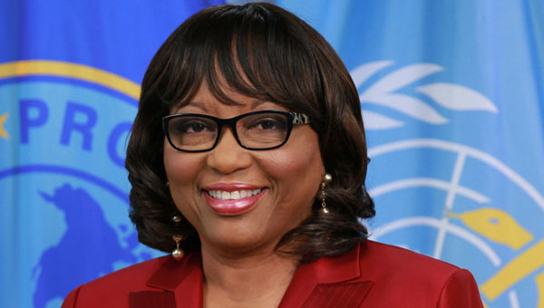 Director of the Pan American Health Organization (PAHO), Dominica-born Dr. Carissa F. Etienne.