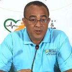 Minister of Health and Wellness, Dr. Christopher Tufton, addresses a digital press conference, on Wednesday, at the Ministry in New Kingston. Photo credit: Ainsworth Morris/JIS.