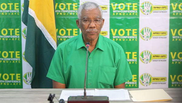 """Guyana's President Urges """"Calm"""" As Polling Stations Close"""