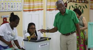 Guyana's President, David Granger, Confident Of Victory; Urges Voters To Exercise Their Franchise