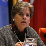 The Economic Commission for Latin America and the Caribbean's (ECLAC)  Executive Secretary, Alicia Bárcena.