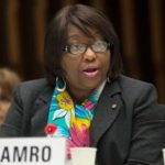 The Pan American Health Organisation's (PAHO) Dominica-born Director, Dr. Carissa F. Etienne.