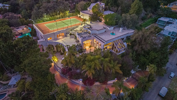 Los Angeles Mansion, Prince Painted Purple, Is For Sale