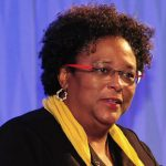 Barbados' Prime Minister and Chair of CARICOM, Mia Amor Mottley. Photo credit: FP.