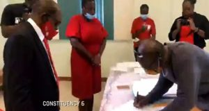 St. Kitts' Main Political Parties Nominate Candidates For June 5 Poll