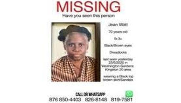 Wife Of Jamaican Musical Icon Missing