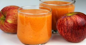 Apple, Carrot, Orange Smoothie