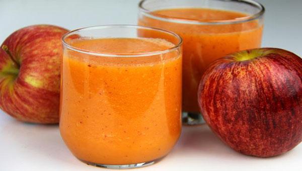 Apple, Carrot, Orange Smoothie