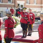 Royal Canadian Mounted Police (RCMP) Commissioner, Brenda Lucki, seen saluting at her Change of Command Ceremony, acknowledged that Canada's national police service is grappling with a long history of racial discrimination. Photo credit: RCMP.