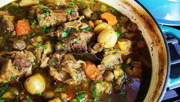 Comforting, Hearty Oxtail Stew
