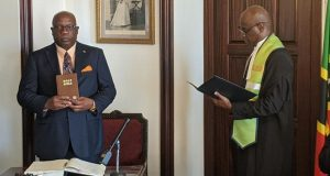 Dr. Timothy Harris Sworn In As Prime Minister Of St. Kitts For Second Term