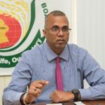 Guyana Rice Development Board's General Manager, Nizam Hassan. Photo credit: DPI.