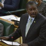 Jamaica's Minister of Transport, Robert Montague, opens the 2020/21 Sectoral Debate in the House of Representatives on June 2. Photo credit: Donald De La Haye/JIS.