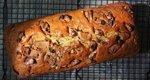 Chocolate Chip, Fruit And Nut Banana Bread