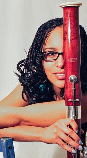 Bassoonist, Sheba Thibideau. Photo contributed by Sheba Thibideau.