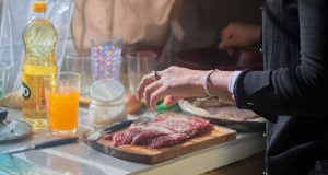 Four Steps To Food Prep Safety: Keep yourself and your dinner guests safe from bacteria by following these four easy steps