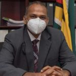 Guyana's Minister of Health, Dr. Frank Anthony. Photo credit: DPI.