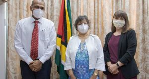 Canadian High Commissioner And Guyana's Health Minister Hold Fruitful Talks