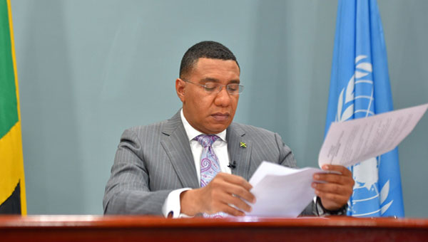COVID-19 Demands Sustainable Global Recovery Plan, Says Jamaica's Prime Minister