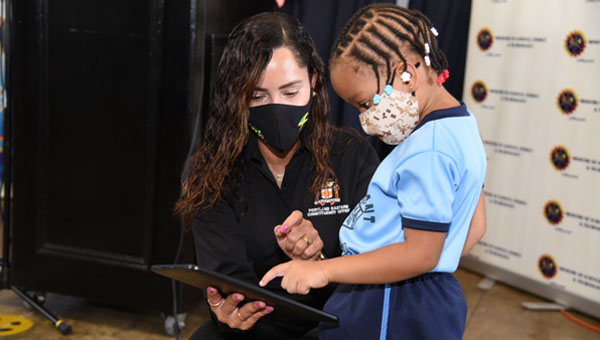 Jamaica Education Ministry Hands Over 213 Tablets To Students In Portland