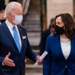 US Democratic presidential candidate, Joe Biden, and his running mate, Kamala Harris. Photo credit: Biden campaign.