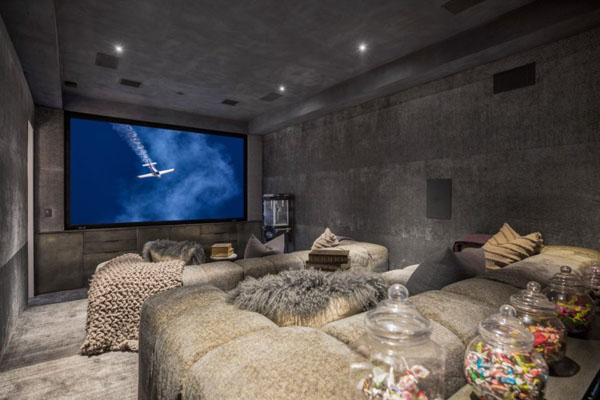 John Legend's Home -- Home Theatre