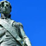 The statue of Lord Nelson in Bridgetown, Barbados. (Stock photo).