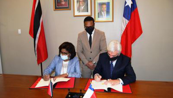 Trinidad And Tobago Signs General Framework Agreement With Chile