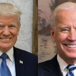 This combination of file photos show incumbent President, Donald Trump, left; and former Vice President and 2020 Presidential Candidate, Joe Biden in 2013. Photo credit: Public Domain.