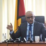 Guyana's Vice President, Dr. Bharrat Jagdeo, disclosed that the Administration has extensive proof of the Coalition's land giveaways that will be provided at the appropriate time. Photo credit: DPI.