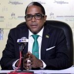 Jamaican State Minister in the Ministry of Industry, Investment and Commerce, Dr. Norman Dunn. Photo credit: JIS.