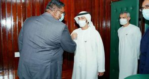 Guyana's President Meets With High Level Team From United Arab Emirates