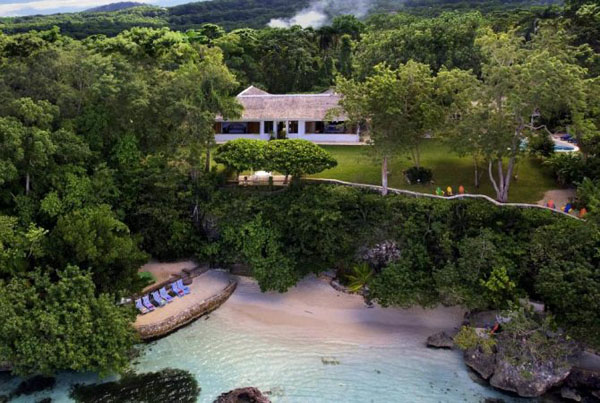 The famed GoldenEye property in Oracabessa, St. Mary, where most of the James Bond novels were penned. Photo contributed.