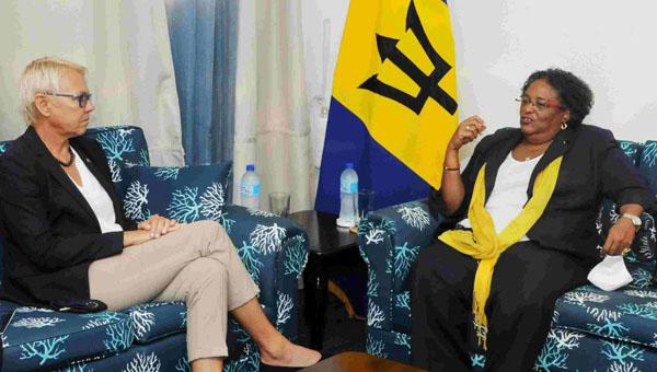 Barbados Prime Minister Reiterates Concerns About Blacklisting To EU Ambassador