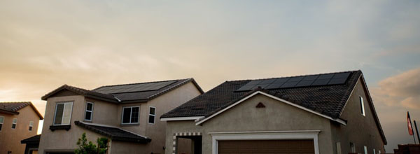 Many net-zero homes use solar photovoltaic panels to produce energy for lighting, heating and cooling systems, hot water and appliances. Excess energy may be stored in batteries or sent to the electrical grid. Photo credit: Unsplash.