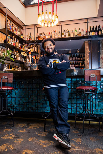 2.Award-winning Food Network host, restaurateur and author, Roger Mooking, in 2019. Photo credit: Lumenville Inc.