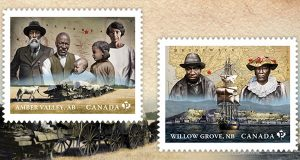 Canada Post Honours Black Westerners: Stamps Tell Of The Struggle And Strength Of Two Black Canadian Settlements