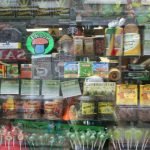 An Amsterdam storefront shows the type of creative and colourful cannabis packaging seen in other jurisdictions. Photo credit: Creative Commons, CC BY-SA.