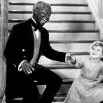 Bill Robinson dancing with Shirley Temple in 'The Little Colonel'. Photo credit: 20th Century Fox.