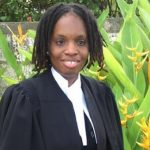 Twenty-six-year-old Janeil Odle was the first blind attorney-at-law to be called to the bar in Barbados, on December 18, 2020. Photo credit: GP.