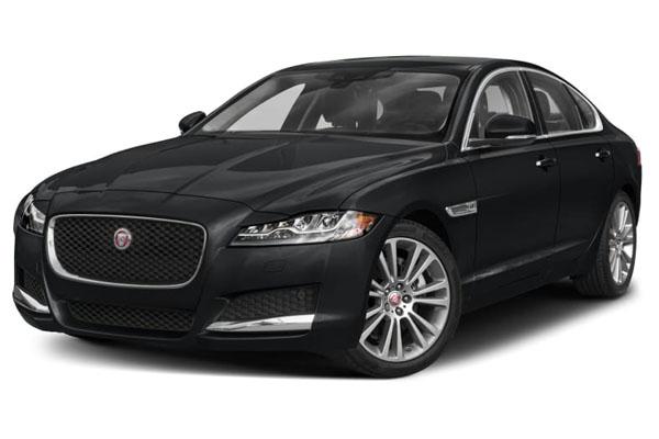 A four-door, all-wheel-drive Jaguar XF 3.0, similar to Jean Pierre's. Photo courtesy of Jaguar.