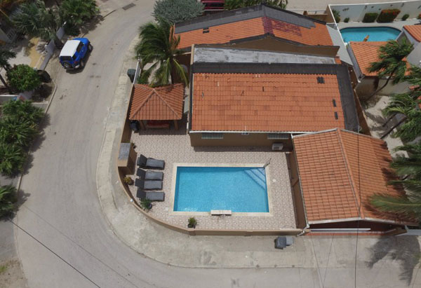 One of real estate investor, Jean Pierre's, two resorts in Aruba, Villa Serenity, where guests pay over US$240 per night. Photo contributed.