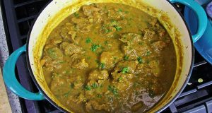 Coconut Curry Lamb With Potato