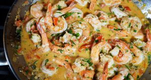 Coconut Stewed Shrimp